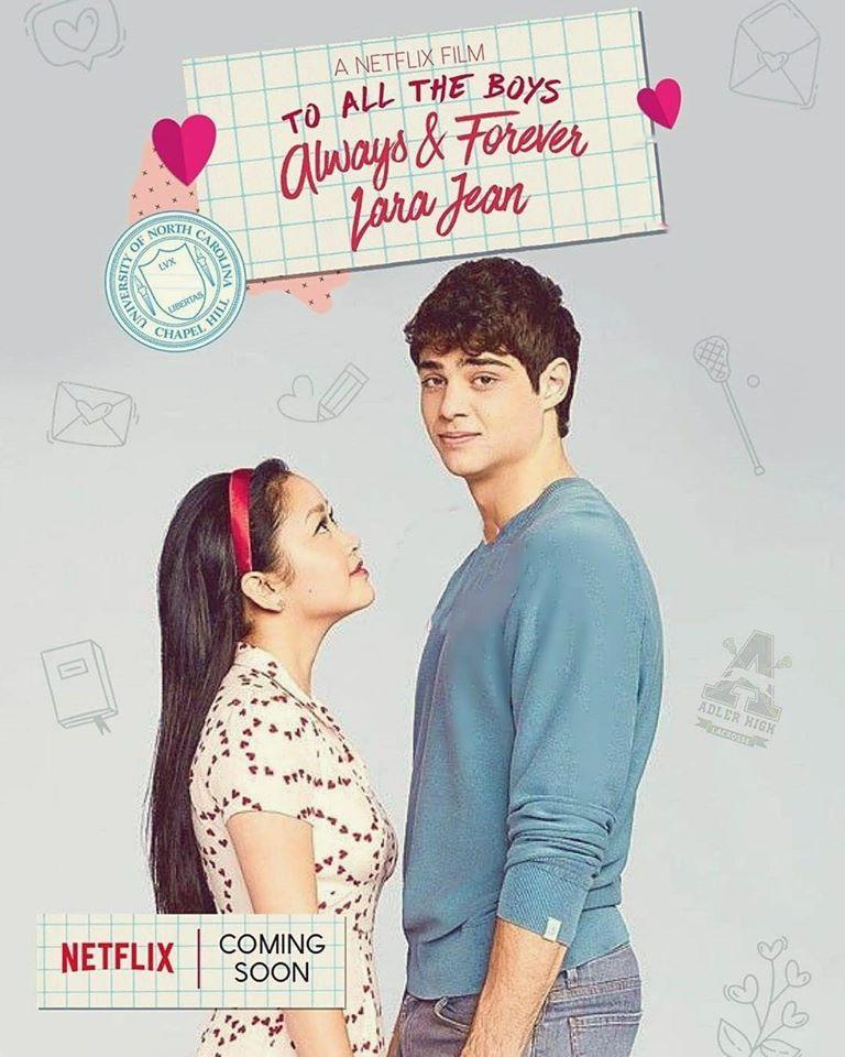 To All the Boys: Always and Forever 2021 720p WEBRip Dual Audio (Hindi-Eng) 1.2GB