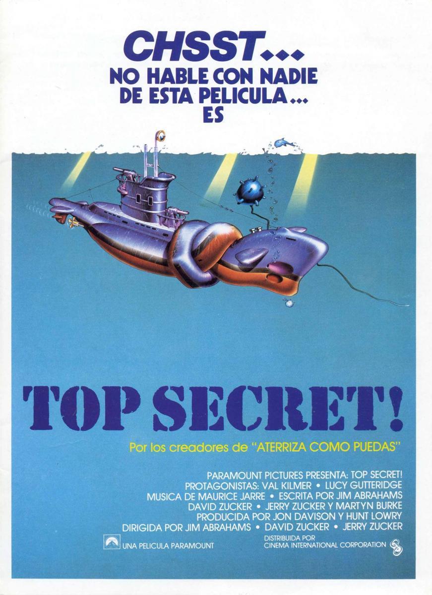 Top Secret 1984 Filmaffinity