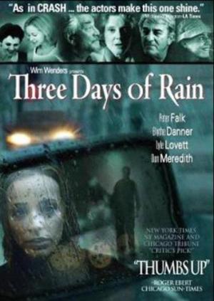 Tres días de lluvia