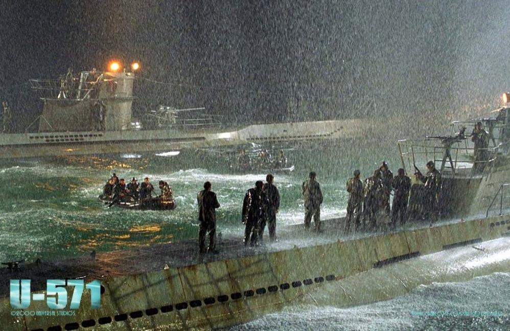 подводная челн u-571 история