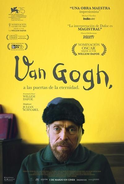 Van Gogh, a las puertas de la eternidad (2018) - Filmaffinity
