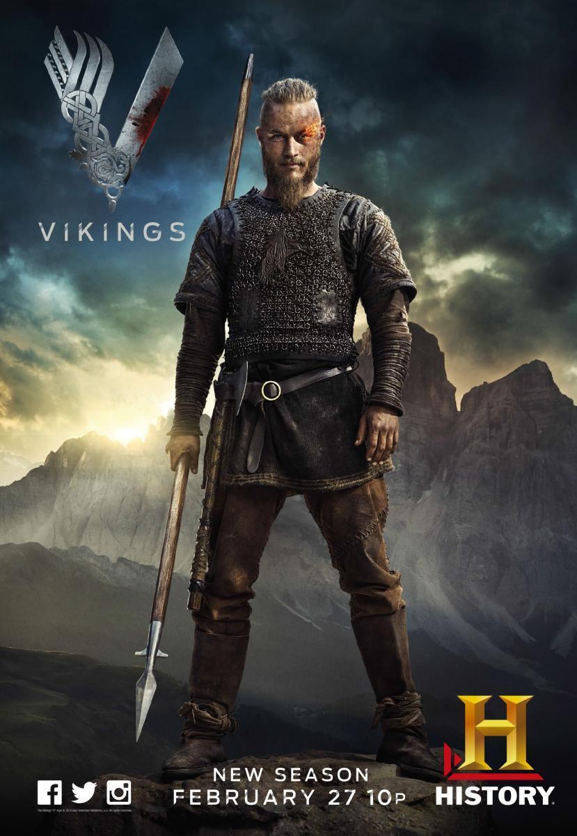 Vikingos Temporada 2 (2014) HD 1080p Latino – Ingles
