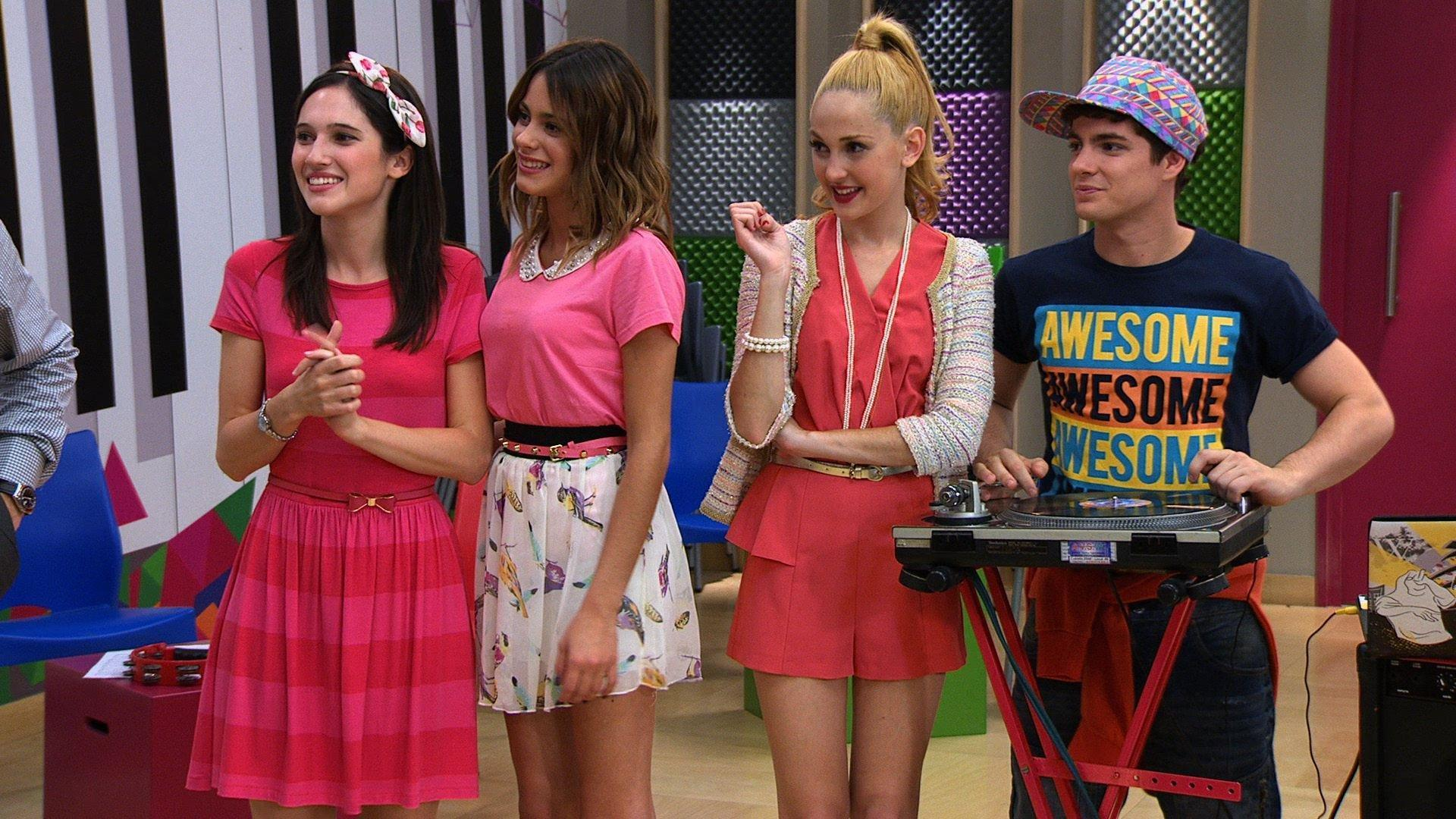 Wallpapers Of Violetta Tv Series Cast