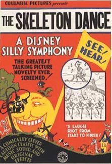 Walt Disney's Silly Symphony: The Skeleton Dance (C)