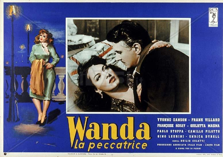 Image Gallery For Wanda The Sinner 1955 Filmaffinity