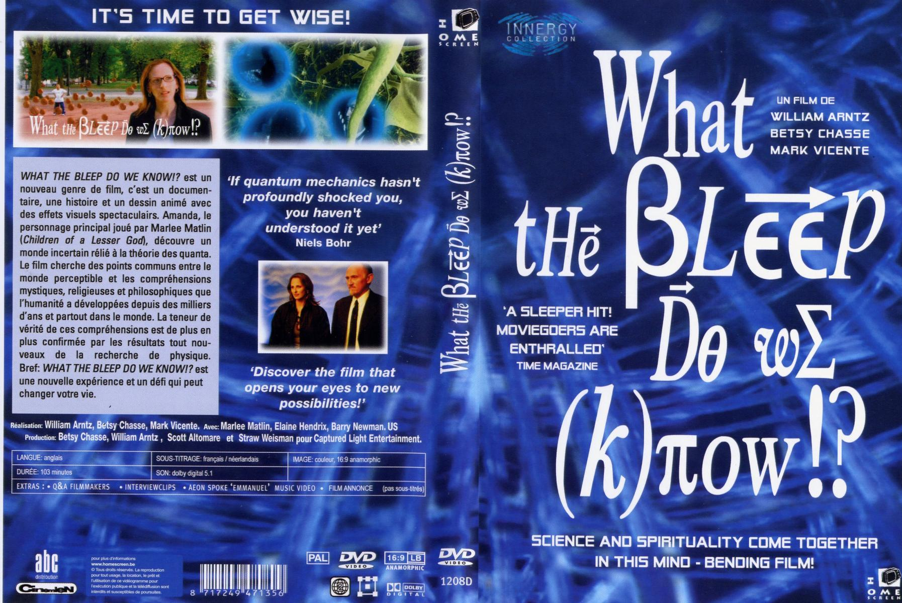 what the bleep do we know essay Buy what the bleep do we know: read 2005 movies & tv reviews - amazoncom.