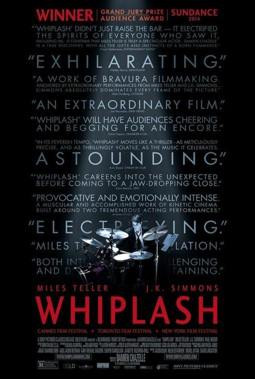 Whiplash, cine, película, cartel, música, drama, arte, obsesión,
