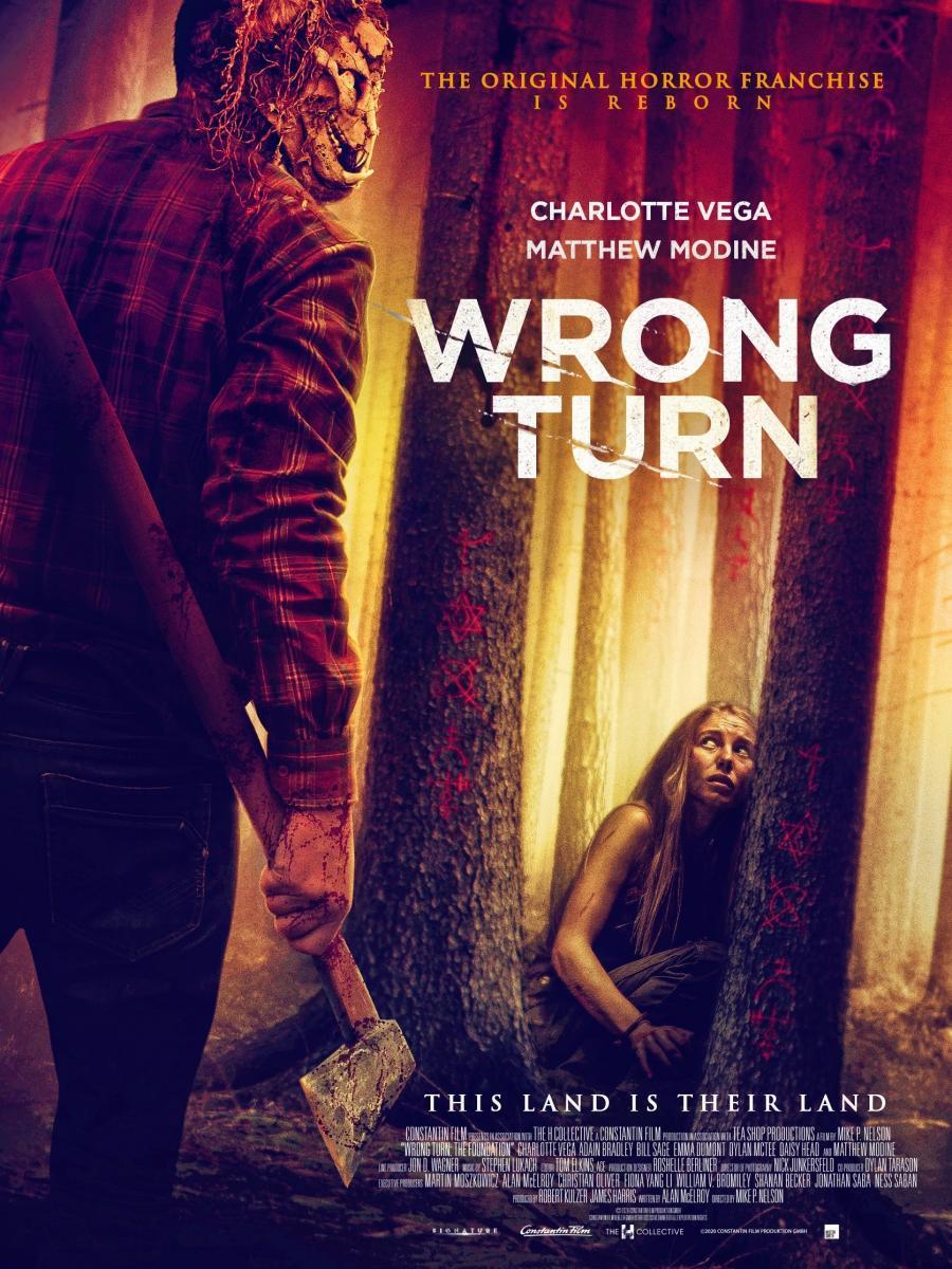 Wrong Turn 2021 Hindi Dubbed 720p HDRip 900MB Download