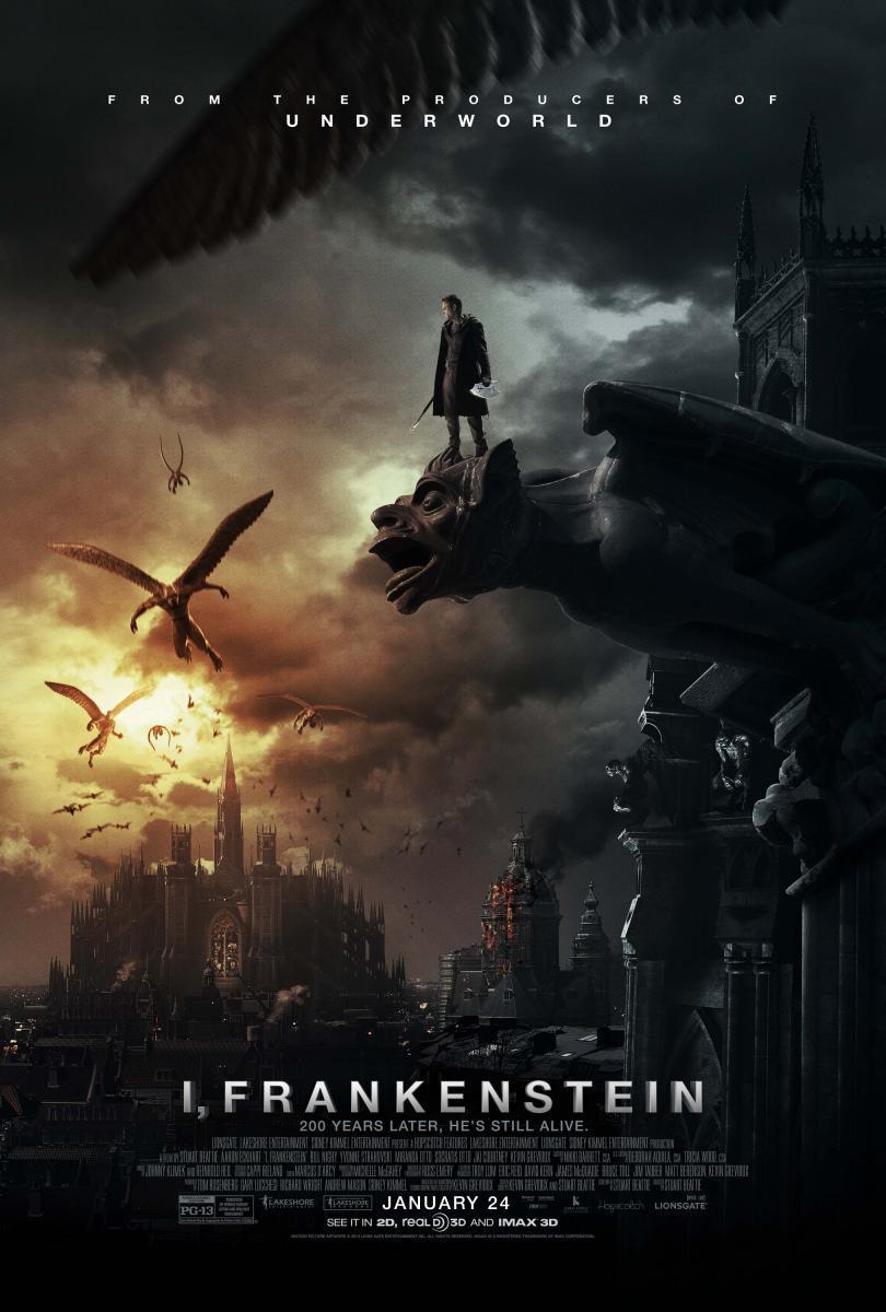 I, Frankenstein [DVDBD] [Latino]