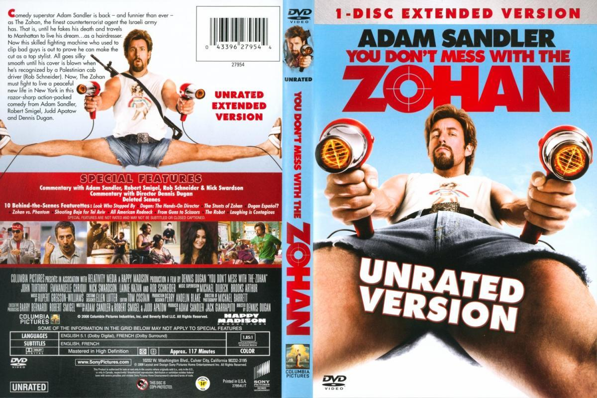 You Don T Mess With The Zohan Sex 112