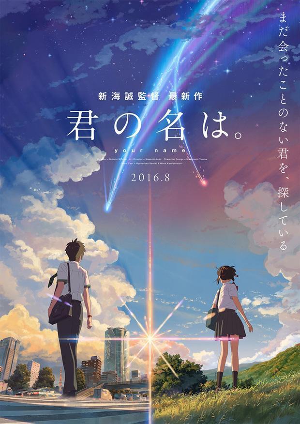 Your Name (BRRip Japones Subtitulada 1080p) 2016
