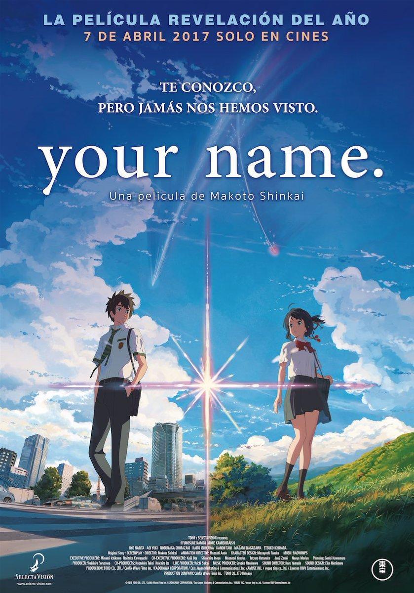 Your Name 2016 Filmaffinity