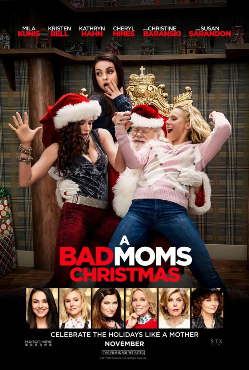 Ver pelicula A Bad Moms Christmas Online