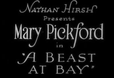 """Image result for """"A Beast At Bay"""" (1912)"""