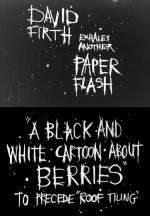 A Black and White Cartoon About Berries (C)