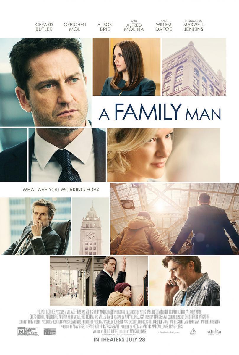 Hombre De Familia (BRRip Latino – Ingles 1080p) 2016