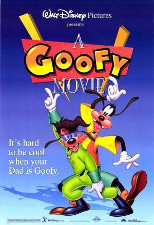 Póster de la película de dibujos animados Goofy e hijo