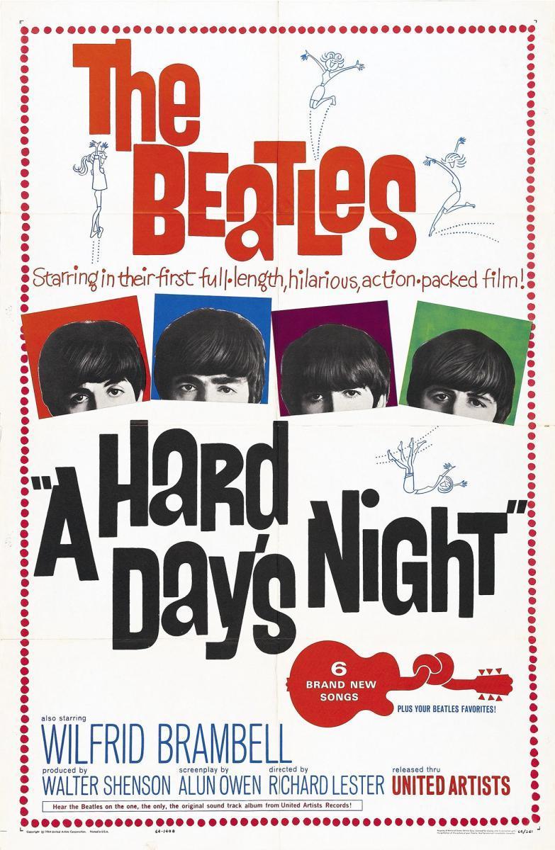 A Hard Day's Night [1964][Latino][1080p][Google Drive]