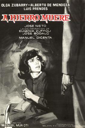 A hierro muere (1962)