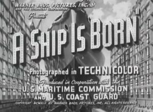 A Ship Is Born (C)