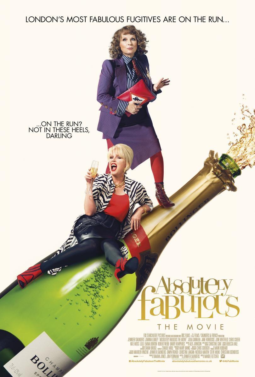 Absolutely Fabulous: La película (2016) [1080p] [Latino] [MEGA]
