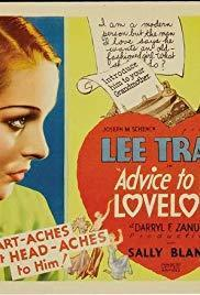 Advise to the Lovelorn