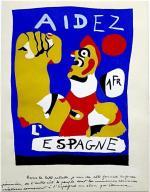 Aidez l'Espagne-Miró 1937 (C)