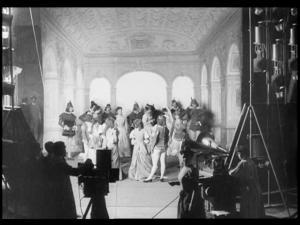 Alice Guy Films a 'Phonoscène' in the Studio at Buttes-Chaumont, Paris (S)
