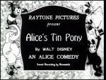 Alicia y el pony de hojalata (C)
