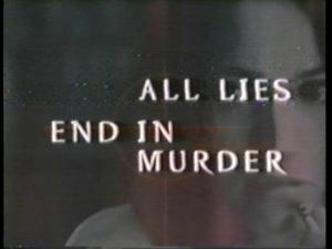 All Lies End in Murder (TV)