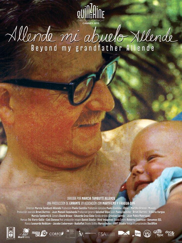 Allende mi abuelo Allende- Marcia Tambutti Allende, 2015
