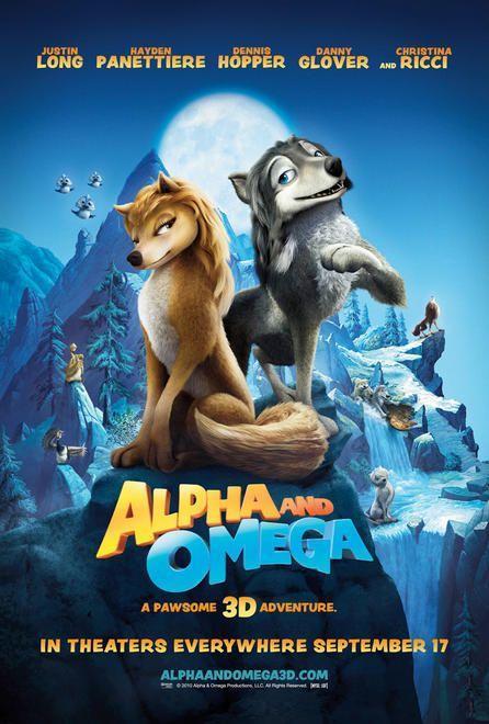 póster de la película Alfa y omega