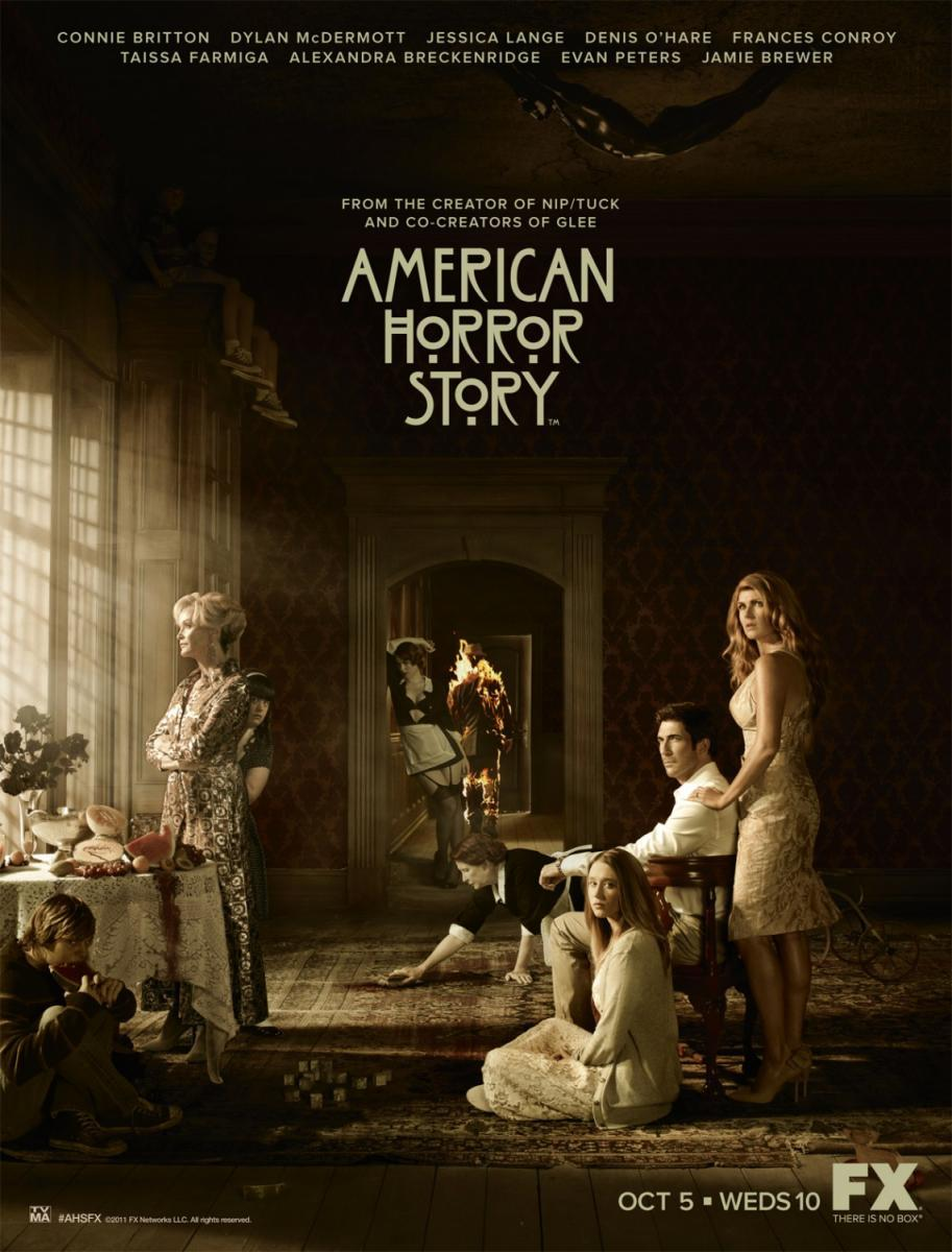 American Horror Story: Murder House T1 a la T6 [480p] [Español Latino] [GD]