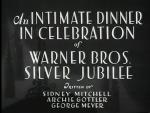 An Intimate Dinner in Celebration of Warner Bros. Silver Jubilee (C)