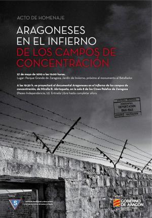 Aragoneses en el infierno de los campos de concentración