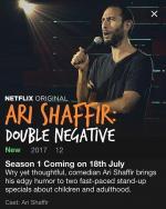 Ari Shaffir: Double Negative (TV)