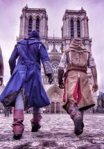 Assassin's Creed Unity Meets Parkour in Real Life (C)