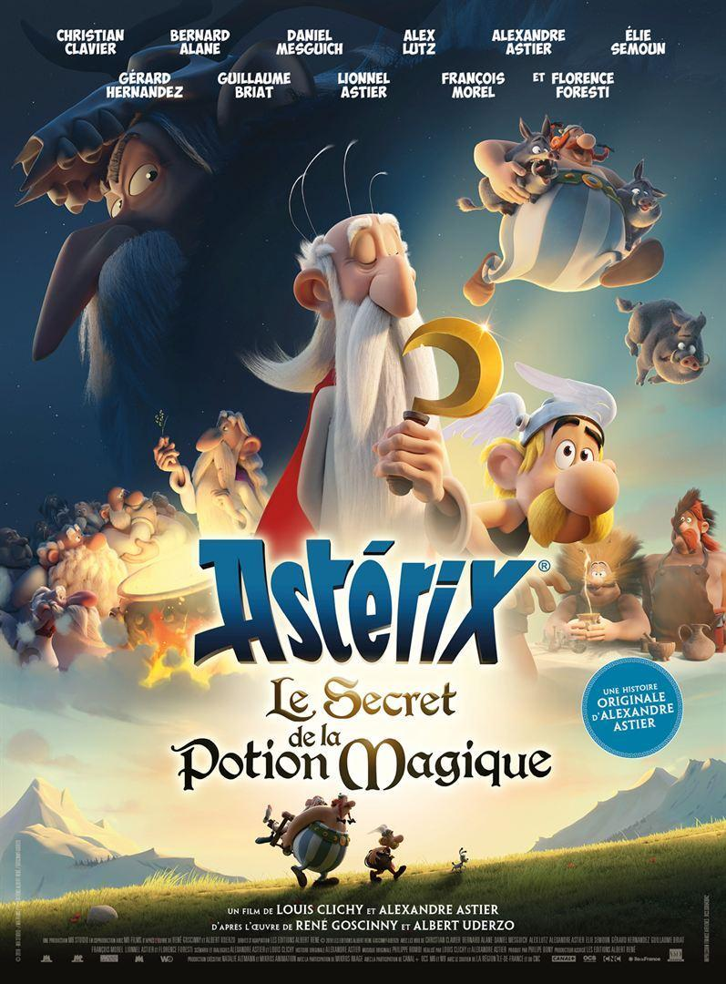asterix  the secret of the magic potion  2018