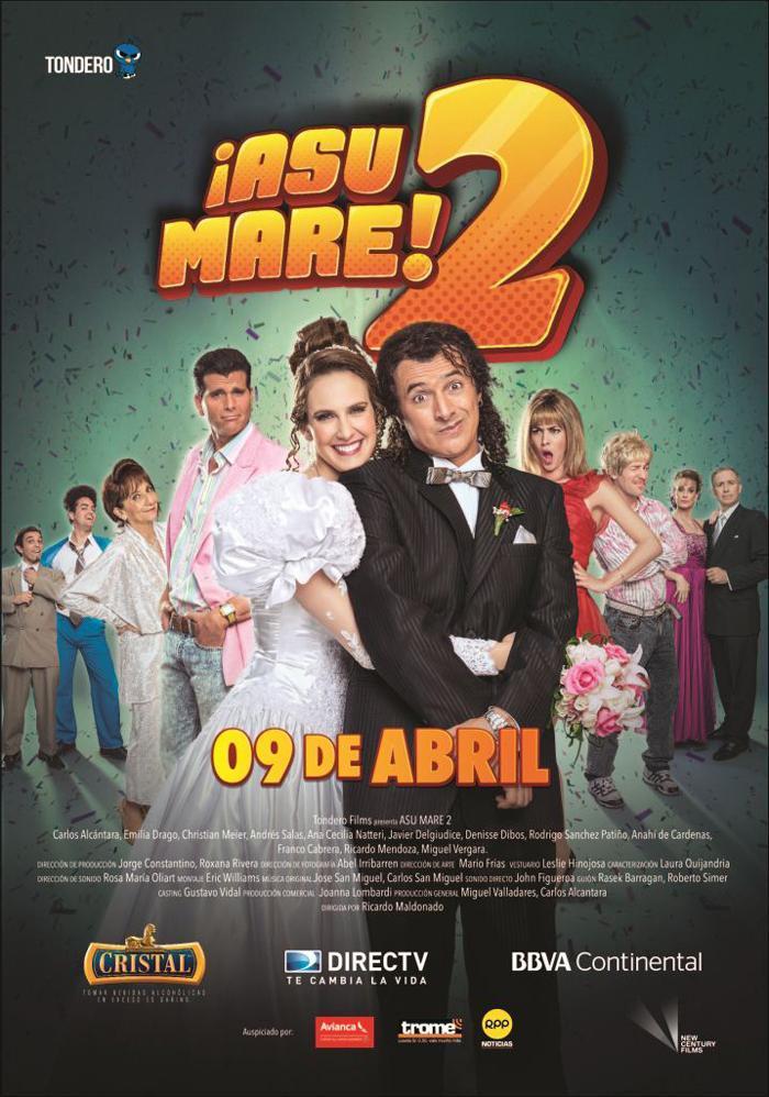 ¡Asu Mare! 2 [2015][Esp Peruano][1080p][MEGA]