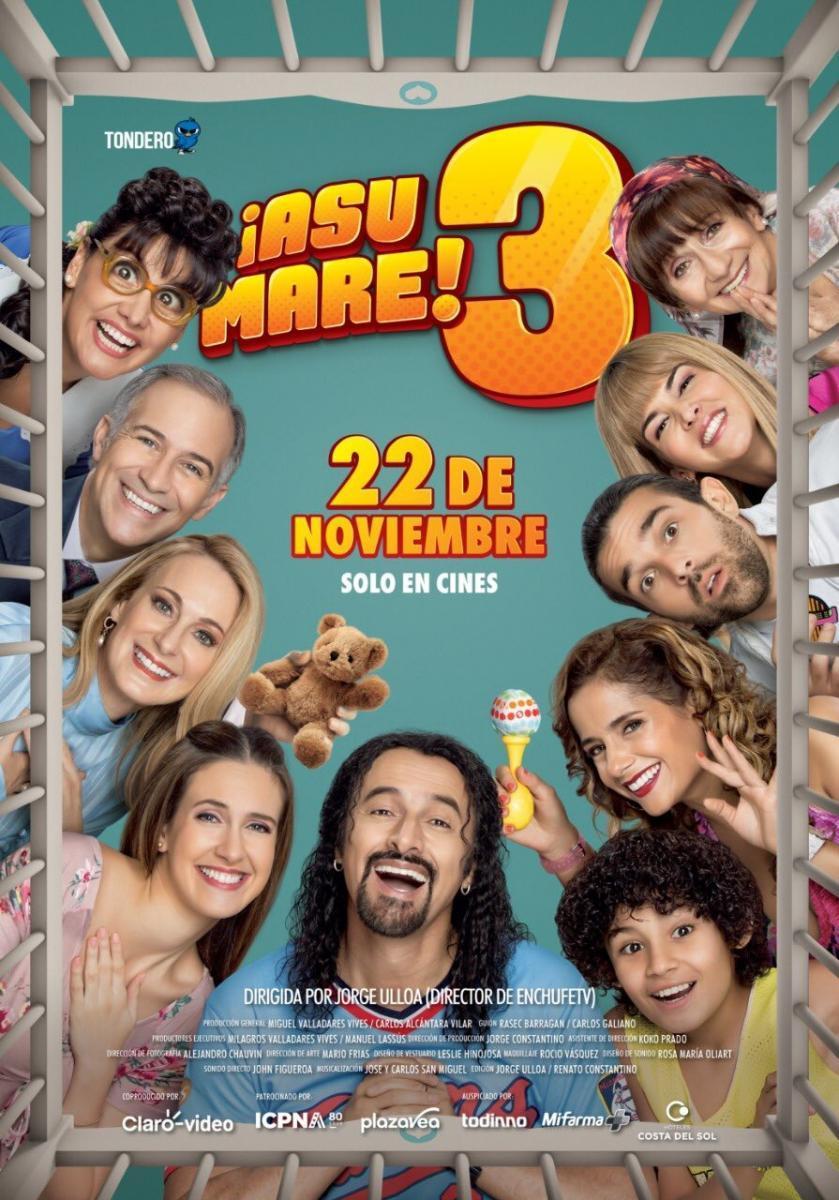 ¡Asu Mare! 3 [2018][Esp Peruano][1080p][MEGA]