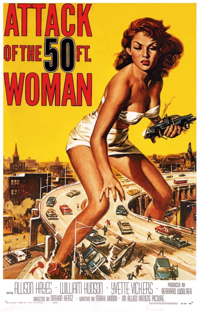 El ataque de la mujer de 50 pies [1959][Latino][1080p][MEGA]