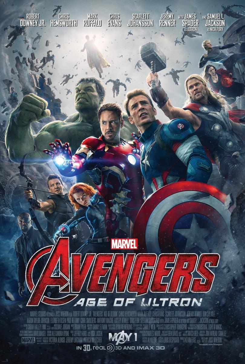 Avengers: Era De Ultrón (2015) BRRip 1080p Latino – Ingles