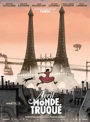 póster de la película Avril y el mundo alterado