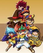 B-Legend! Battle Bedaman / Bakkyuu HIT! Crash Bedaman / Battle B-Daman: Fire Spirits (Serie de TV)