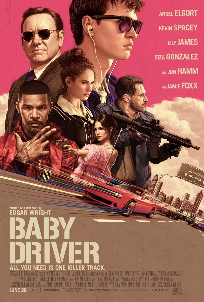Resultado de imagen de BABY DRIVER filmaffinity
