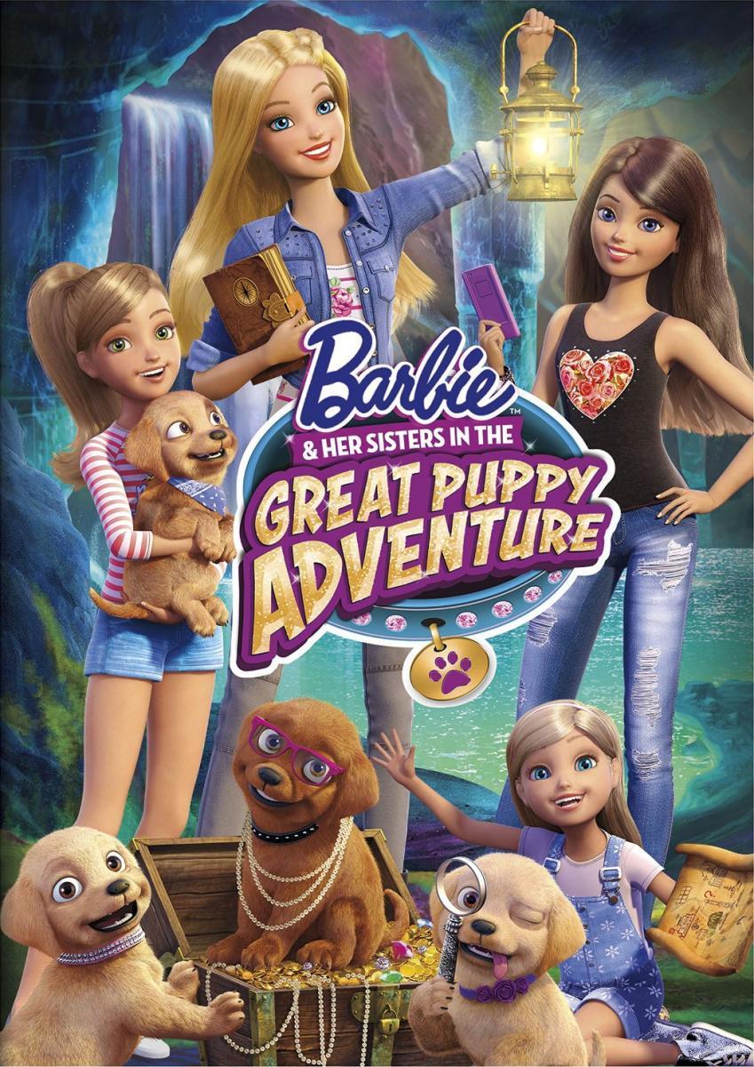 Barbie y sus hermanas: Perritos en busca del tesoro (2015) HD Latino 1 LINK
