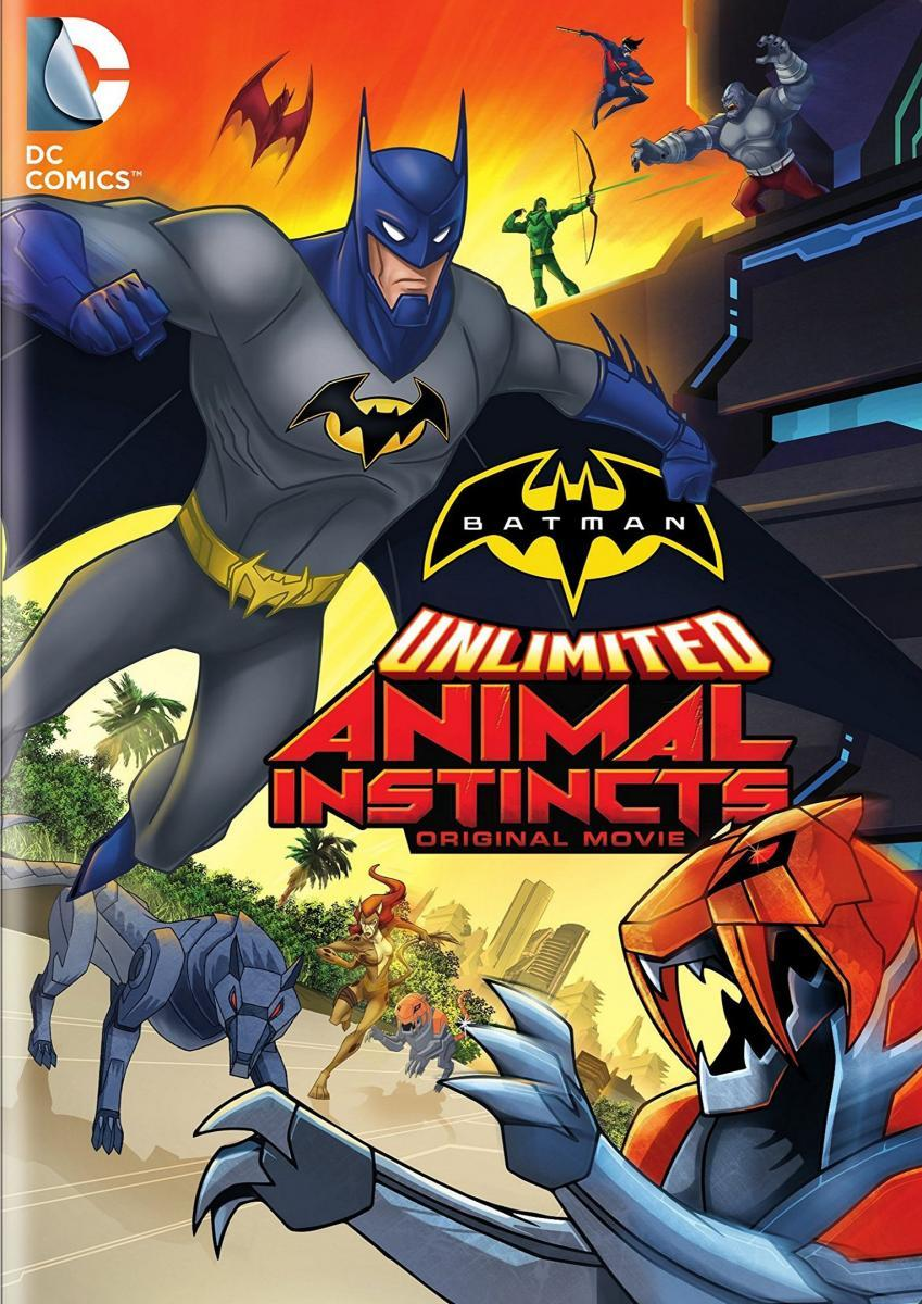 Batman sin límites: Instinto animal (2015) HD Latino Gratis