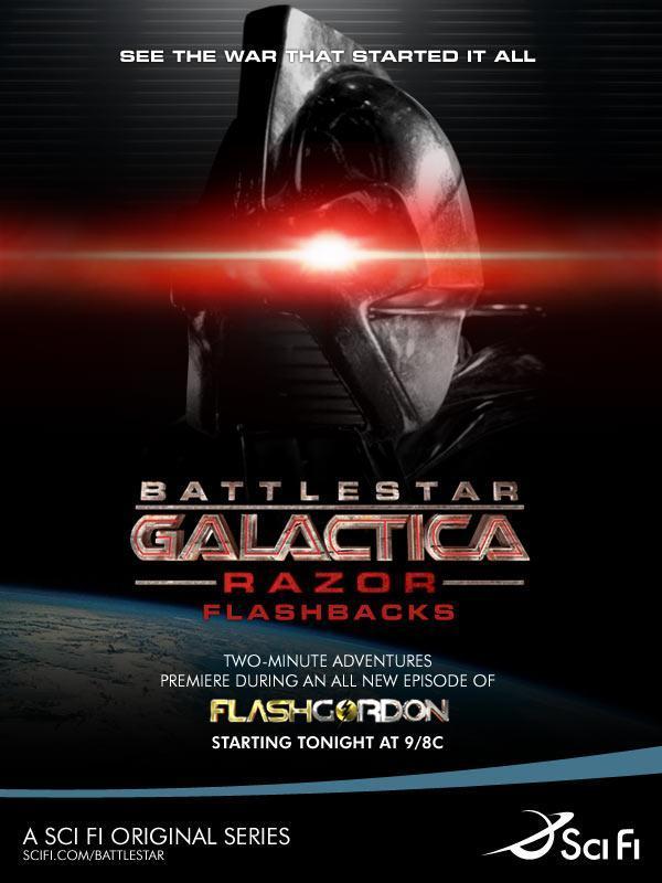 Battlestar galactica movie razor
