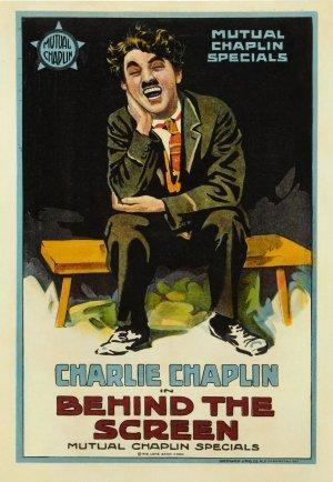 Charlot, tramoyista de cine (C)