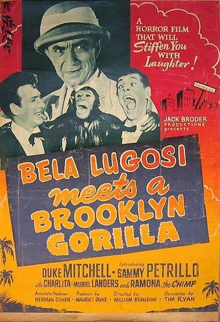 bela lugosi meets a gorilla 1952 filmaffinity
